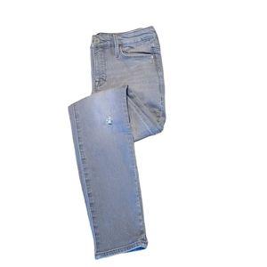 Athleta Scupltek Gray Skinny Jeans sz 4P